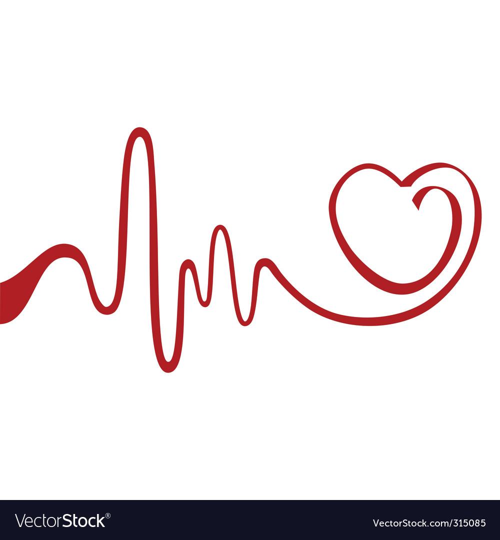 Heart symbol vector