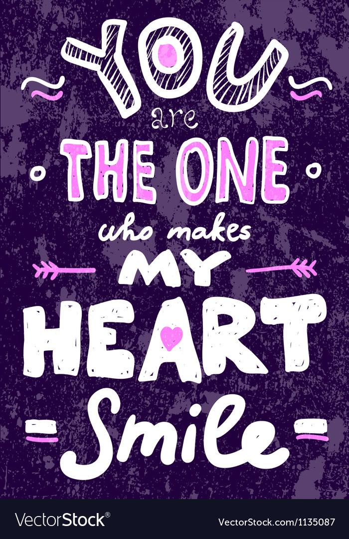 Saint valentines typography vector
