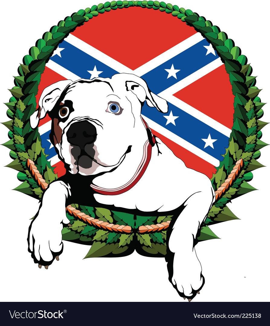American bulldog vector - photo#22