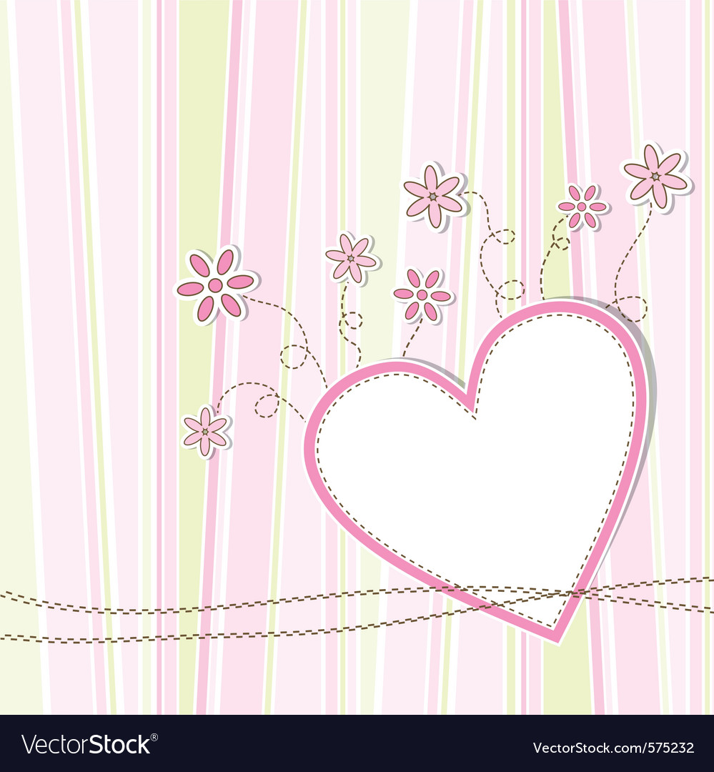 Greeting card template vector by Tolchik - Image #575232 - VectorStock