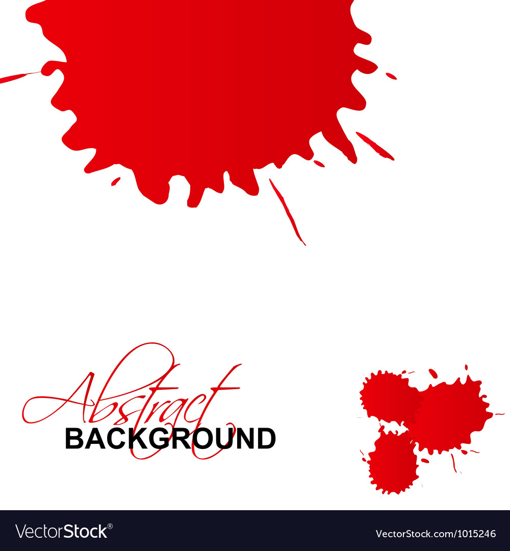 Splash abstract background vector