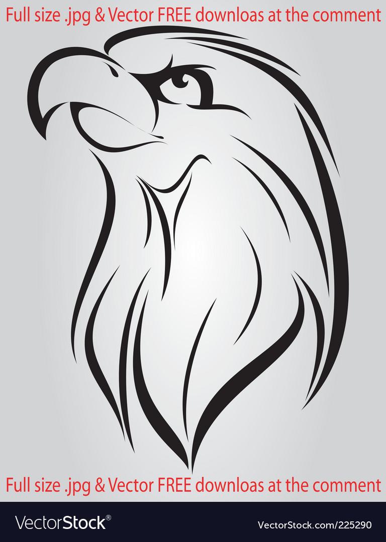 Free eagle vector