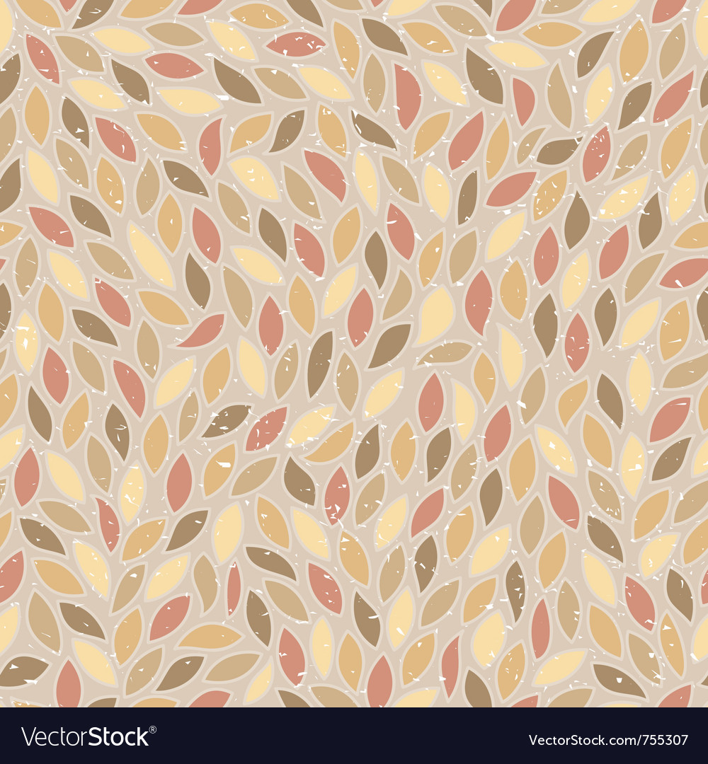 Abstract seamless pattern in retro style vector