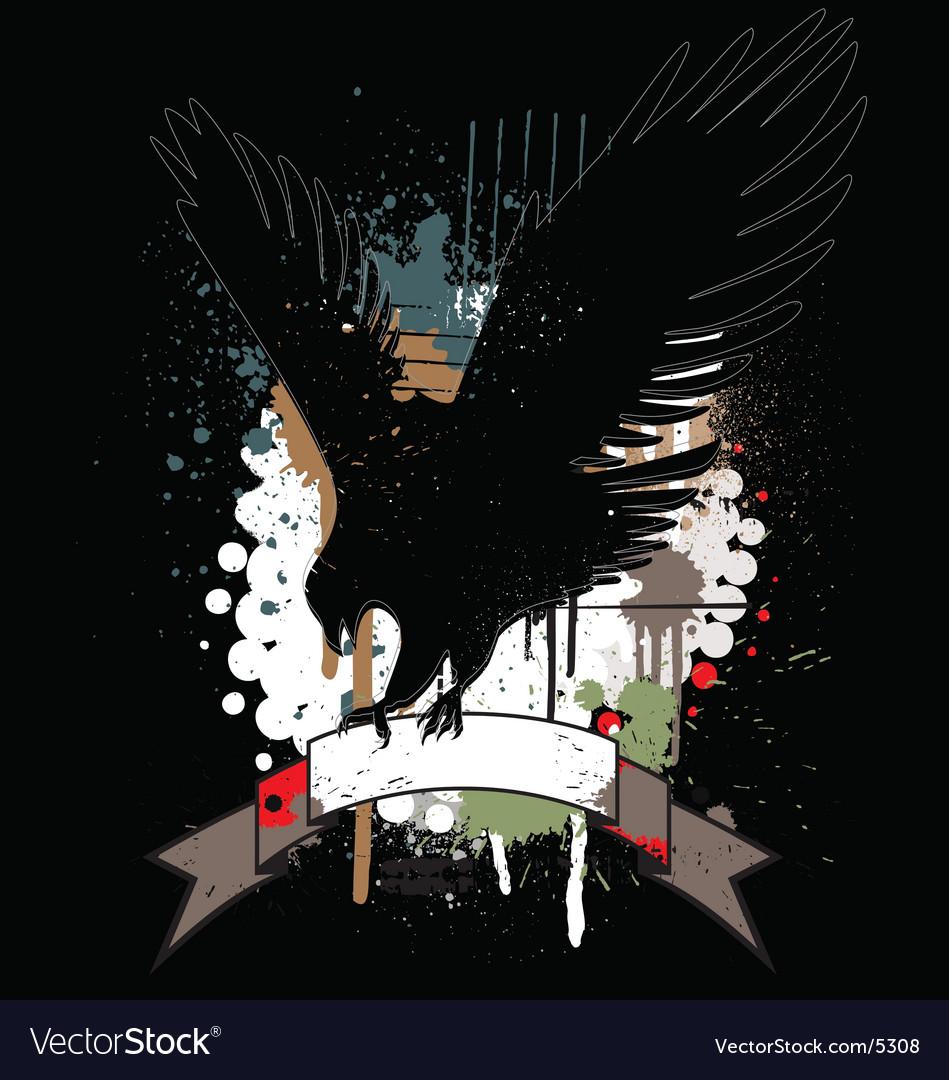 Free heraldry grunge page vector