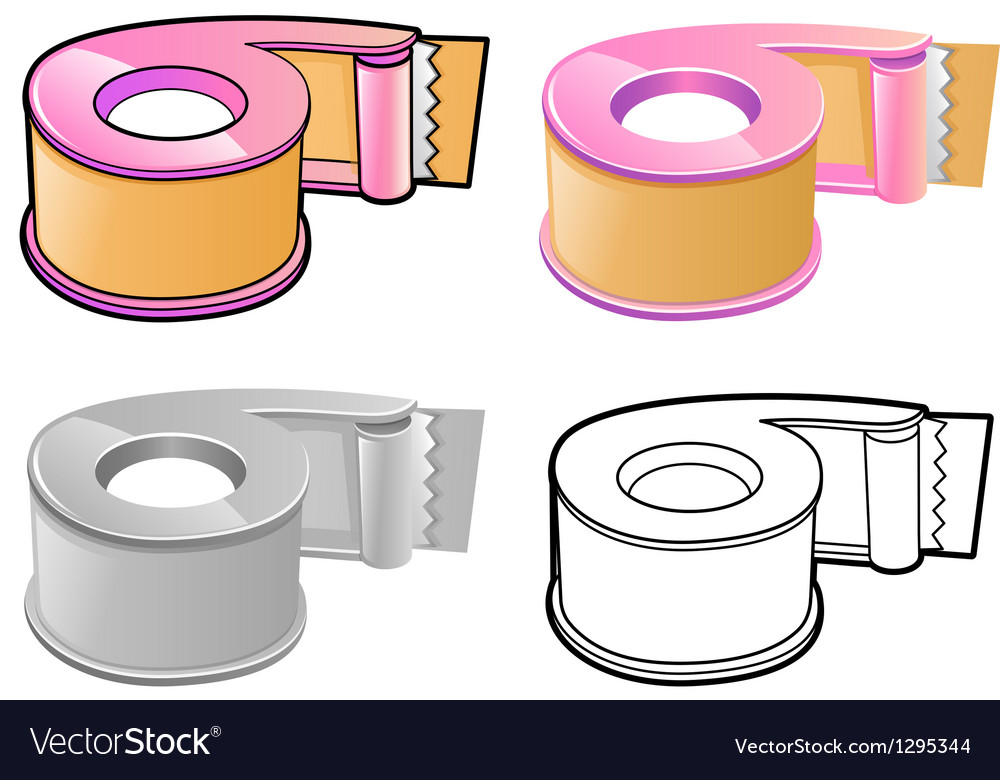Different styles of dispenser sets vector