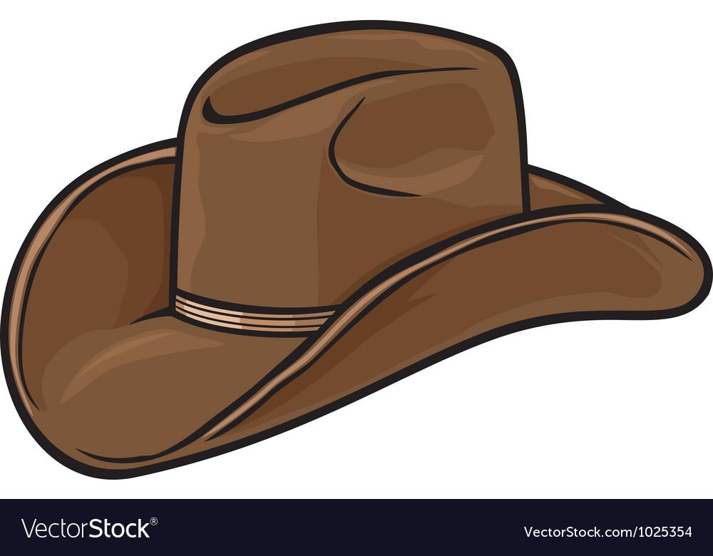 Cowboy hat vector