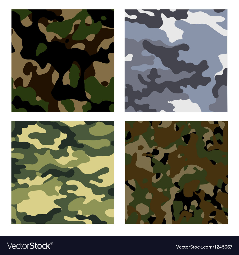 Military backgrounds vector