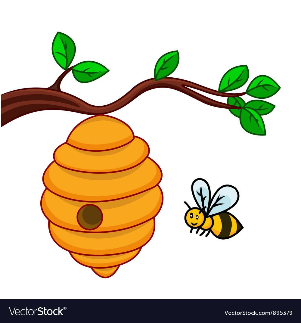 Go Back > Gallery For > Honey Bee Hive Cartoon