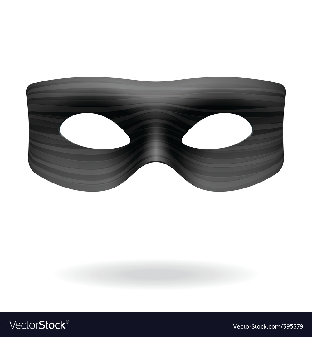 Zorro mask vector