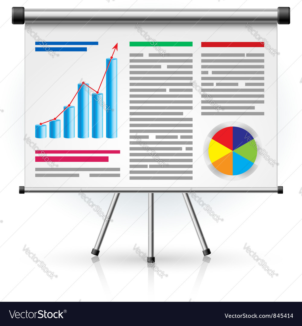 Business schedule vector