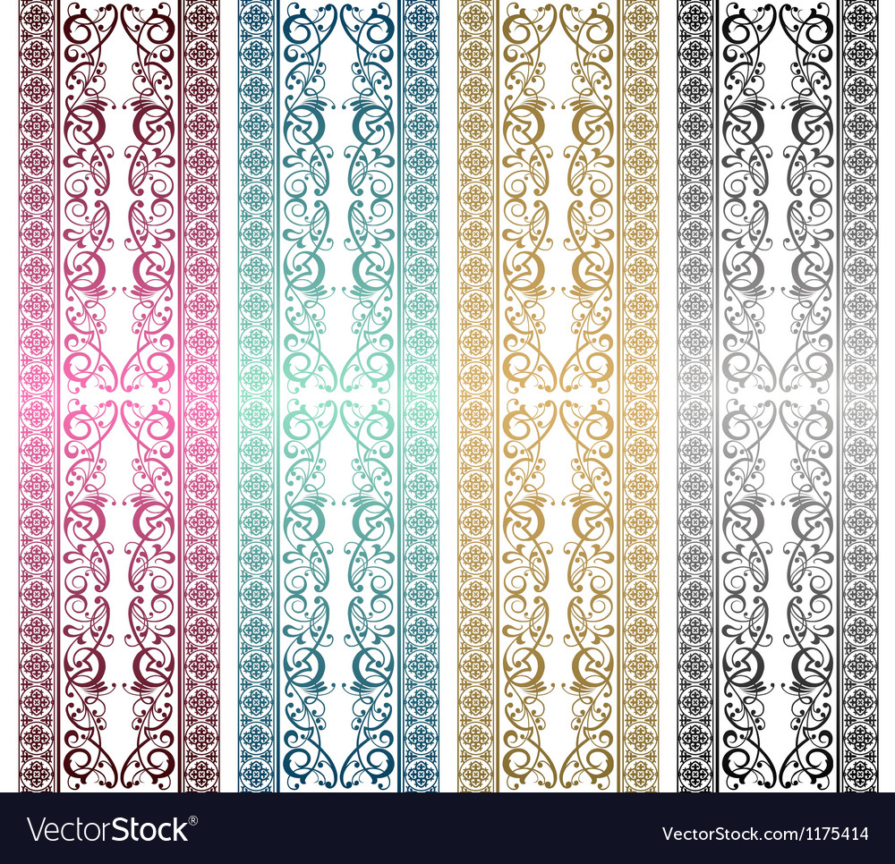 Royal ornament vector