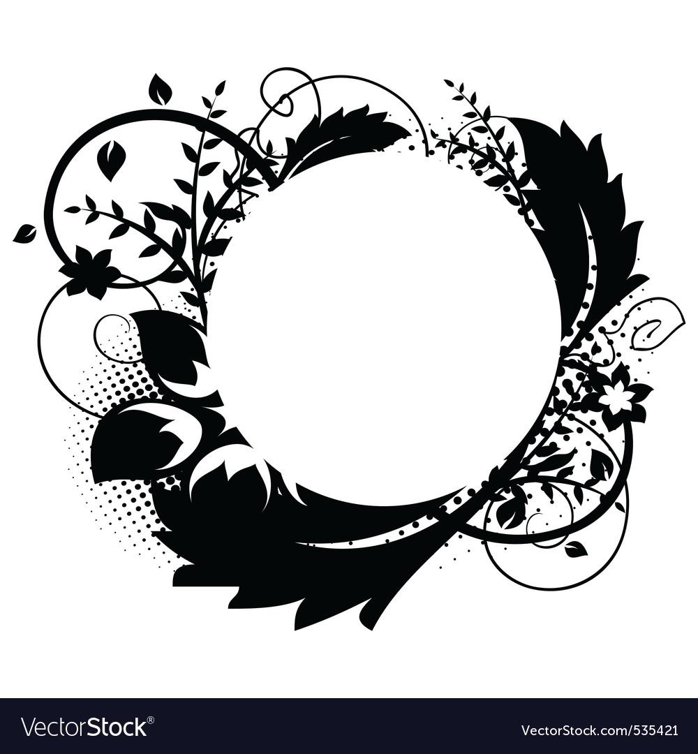 Circle frame vector by Nata-Art - Image #535421 - VectorStock