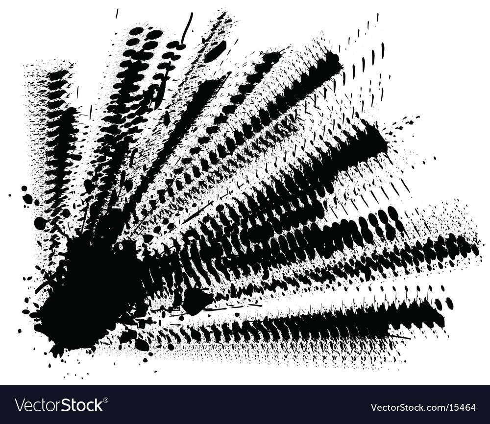 Ink explosion vector