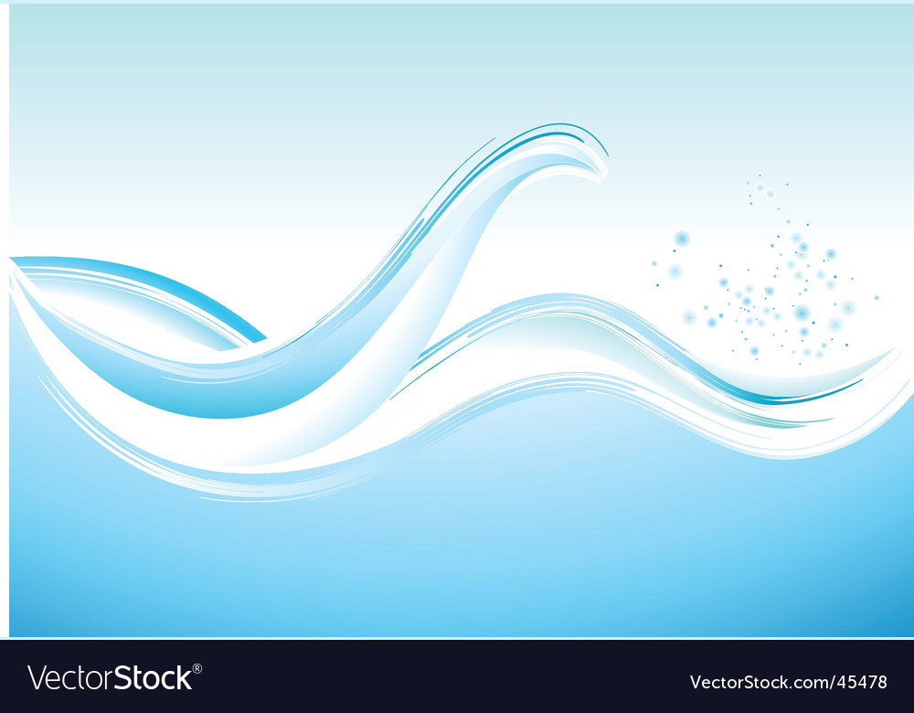 Ocean waves vector