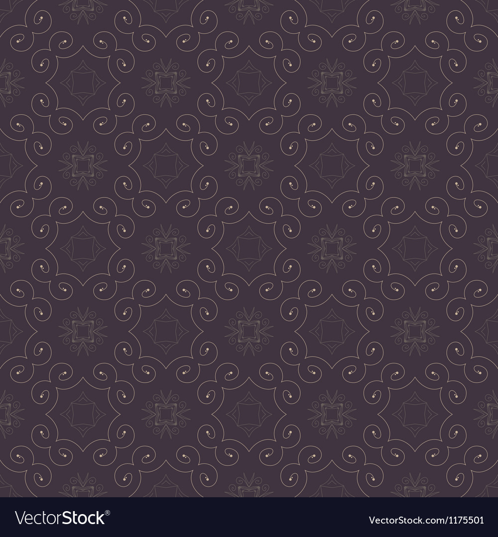 Seamless color retro pattern background vector
