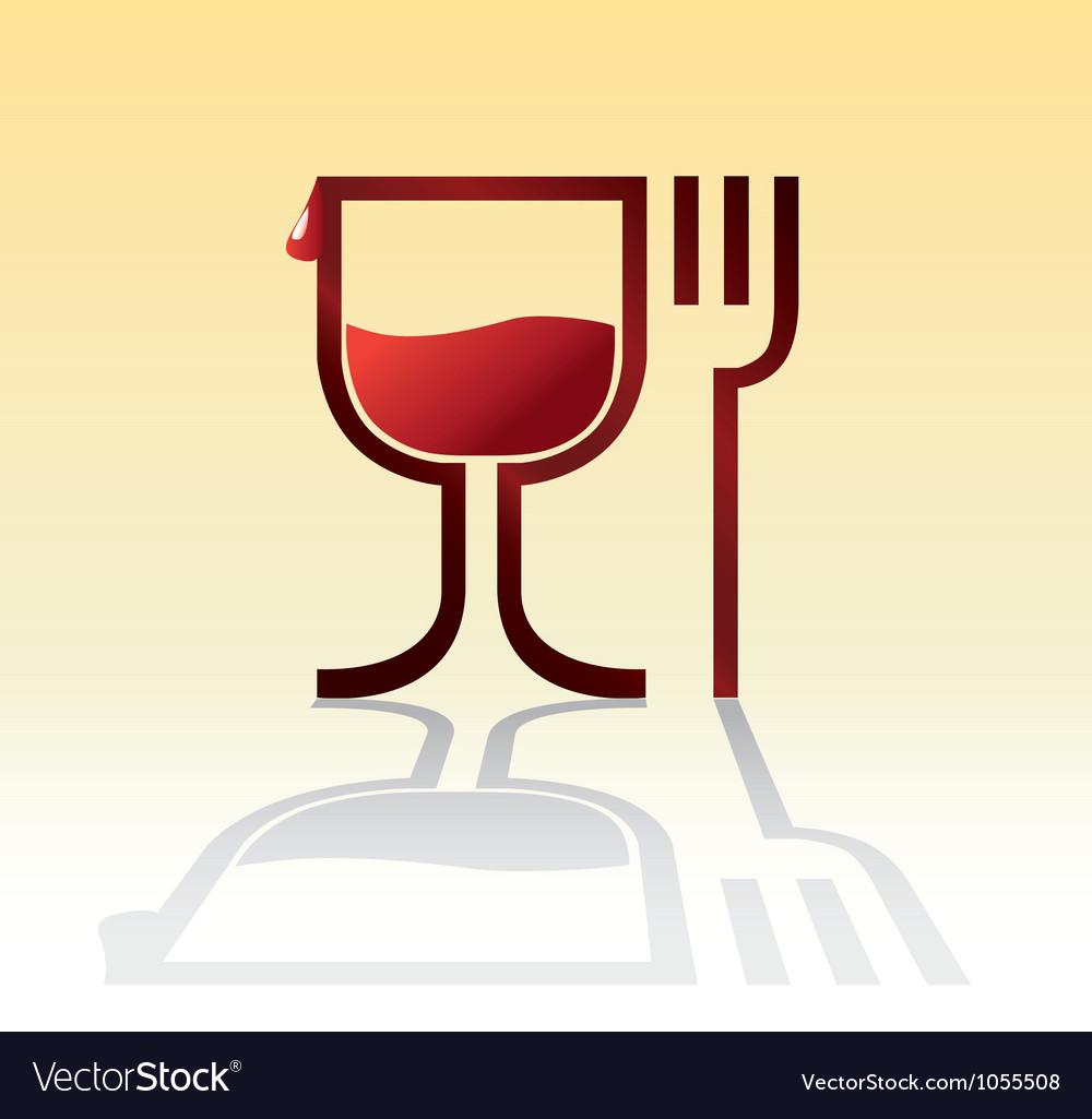 Dinner time vector