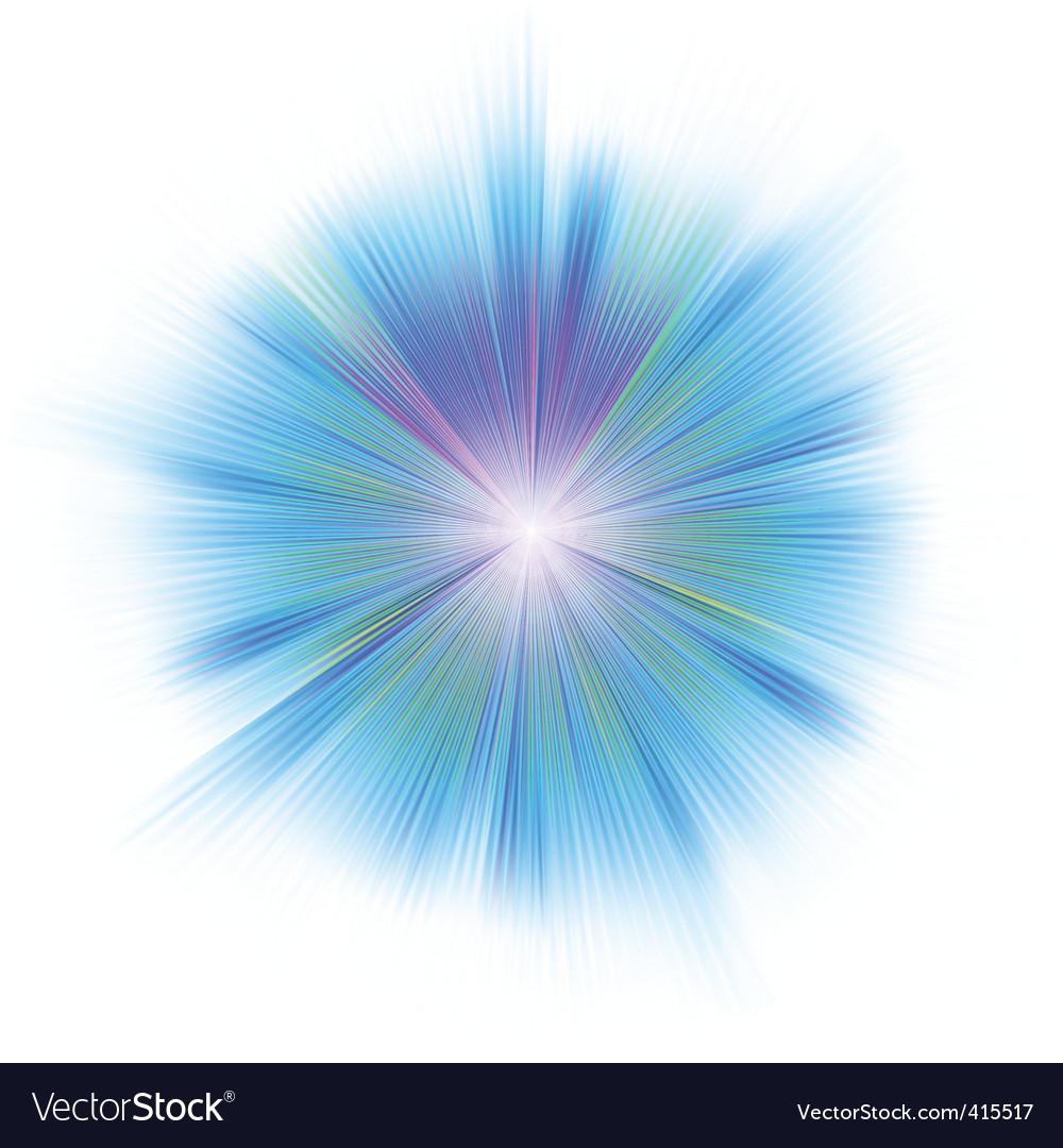 Shiny star vector