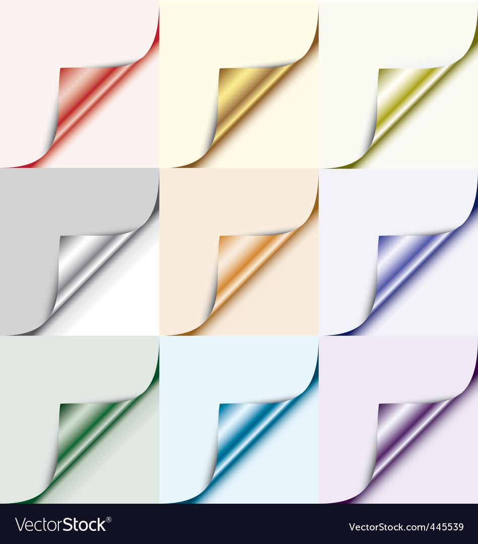 Corner element vector