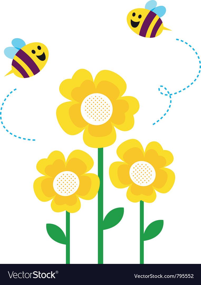 Cartoon bees flying - photo#25