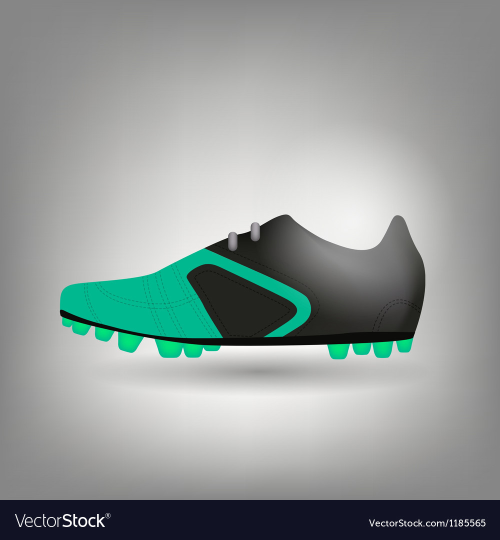 Football boot icon vector