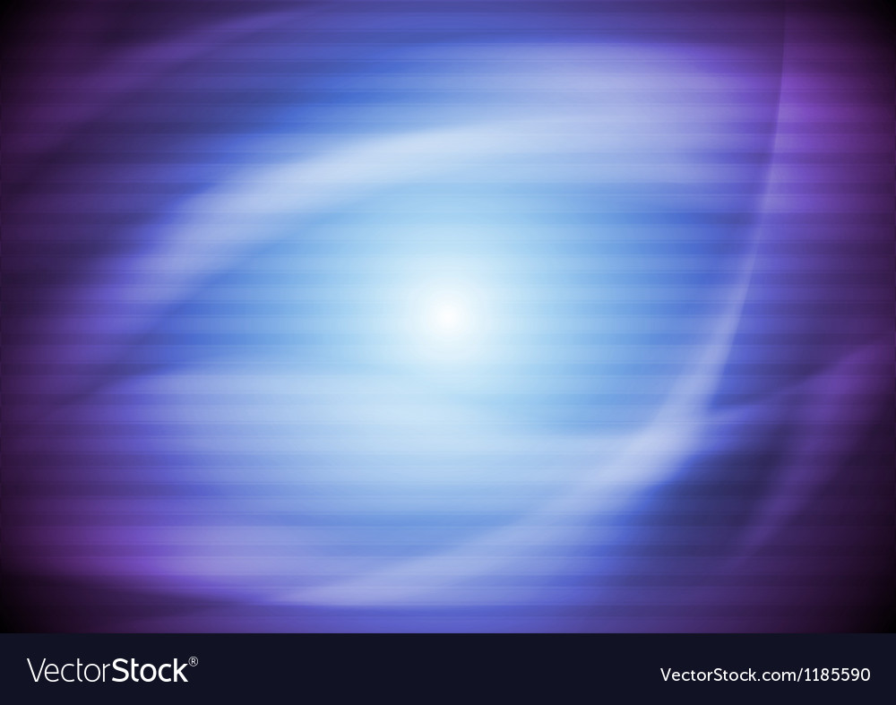Bright wavy background vector