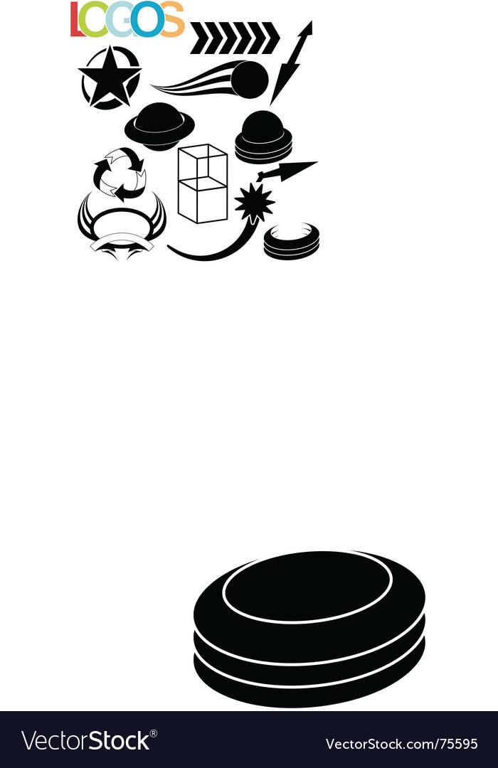Simple logos vector