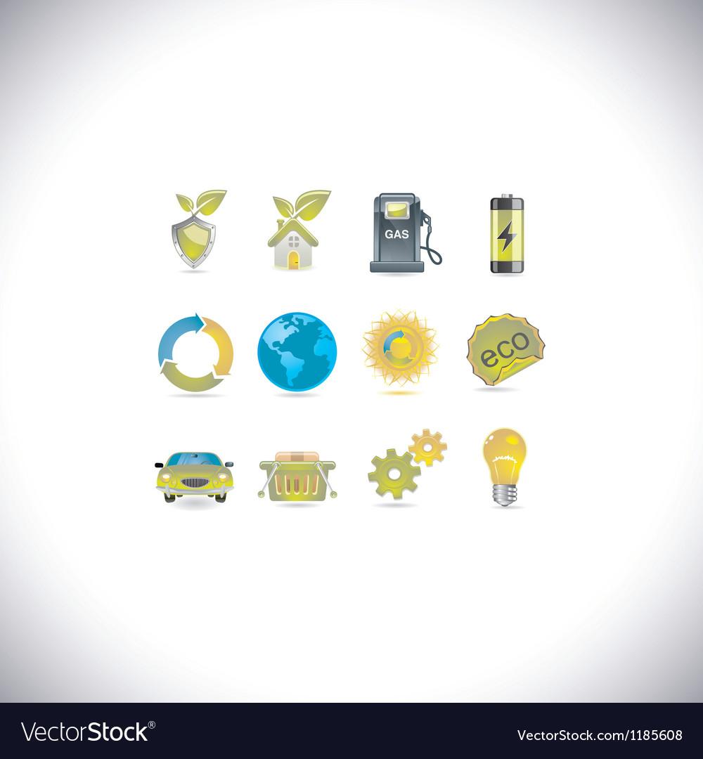 Environment set vector