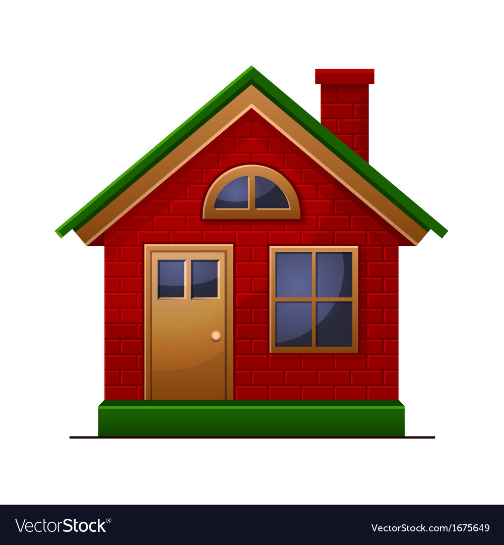 House icon isolated on white background vector