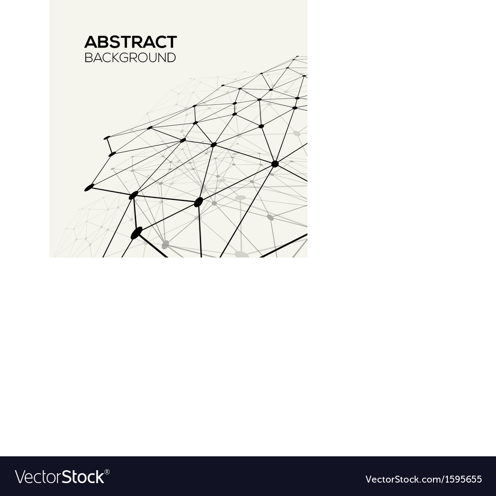 Molecule and communication background vector