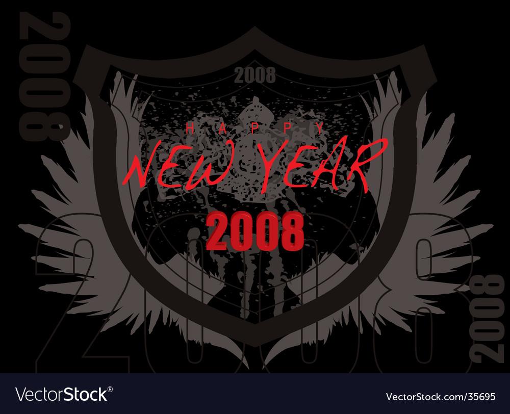 2008 shield vector