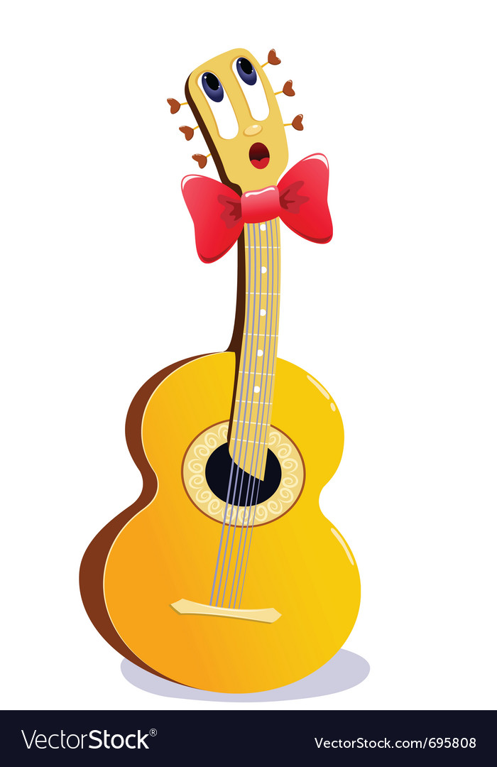 guitar cartoon guitar cartoon guitar by johlu515 cartoon acoustic ...