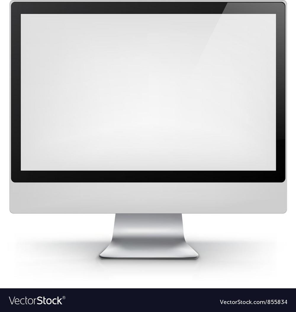 Computer eps 10 vector
