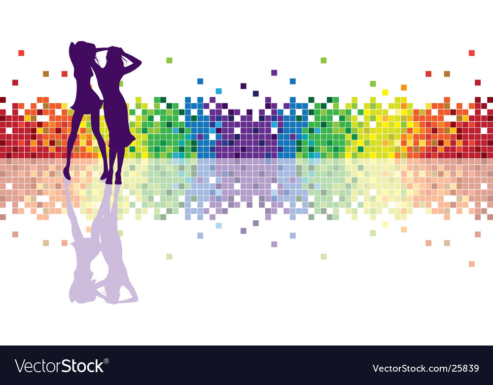 Geometric rainbow vector