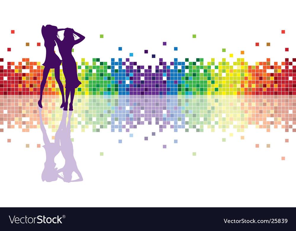 Geometric rainbow vector
