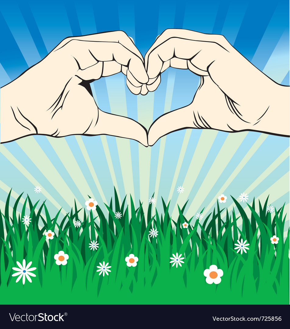Love sign 2 vector