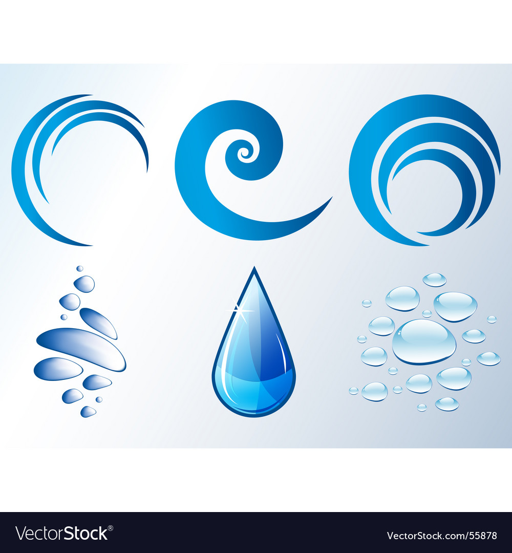 Blue theme vector