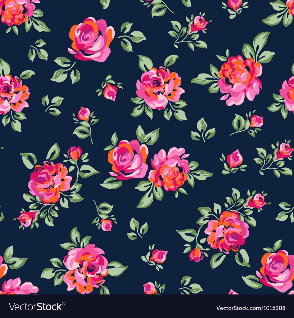 Bright roses vector