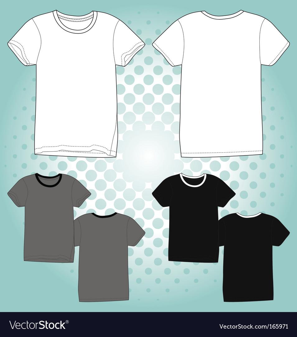T shirt unisex vector
