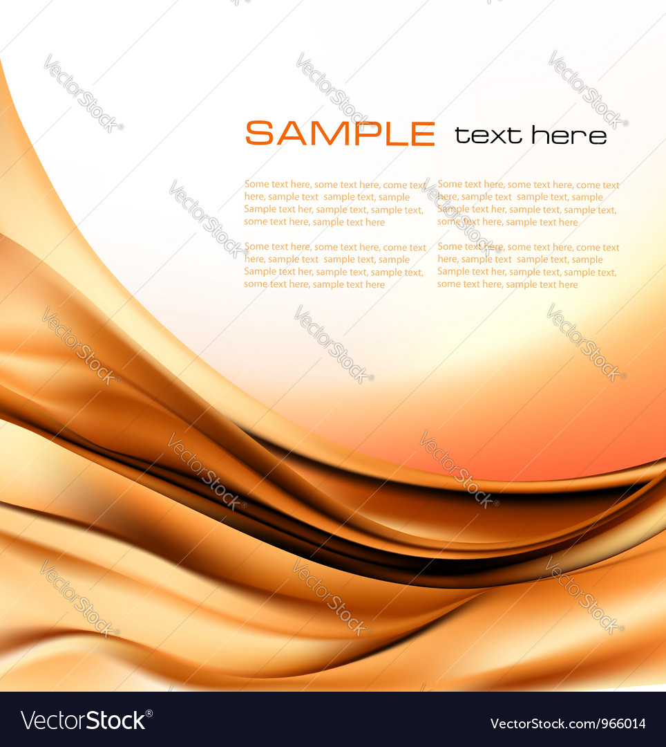 Abstract brown neon background vector