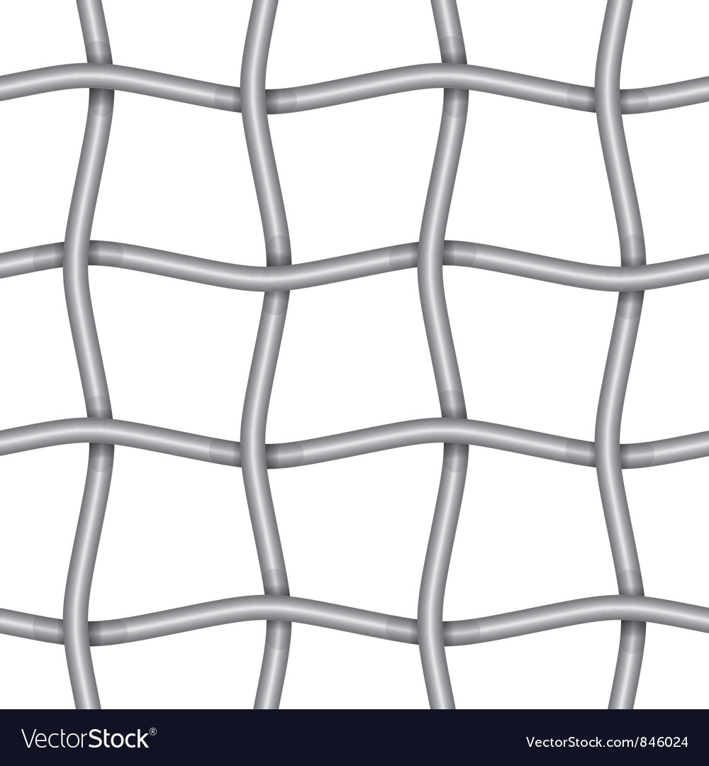 Iron net vector
