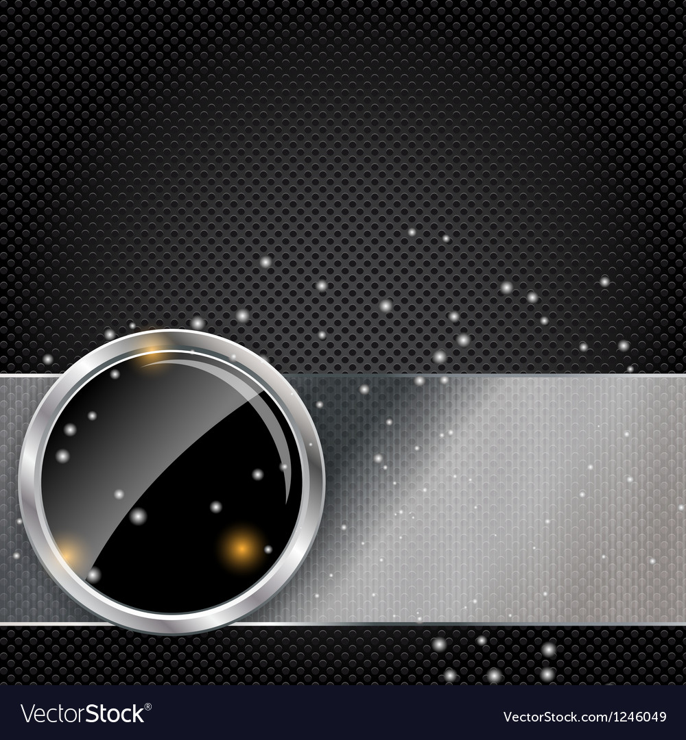 Metal glass abstract background vector