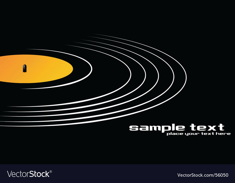Spin that record vector