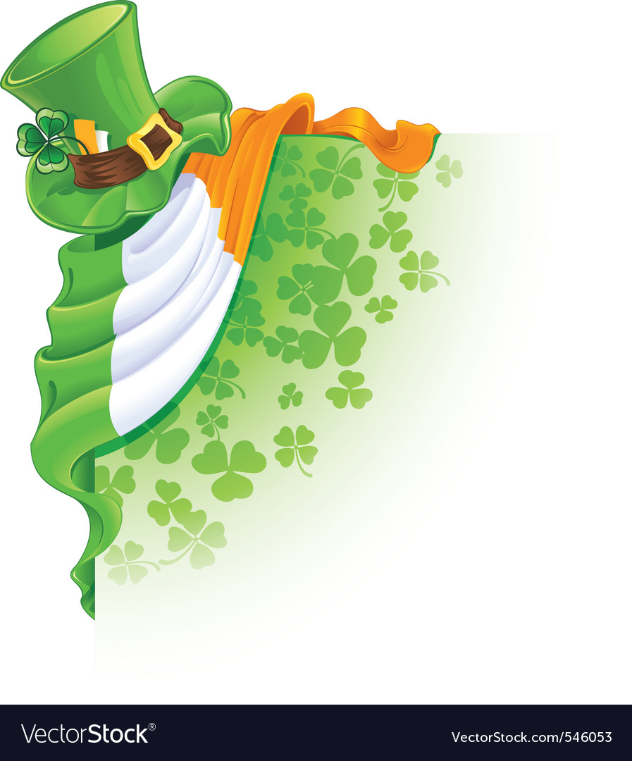 Irish cartoon vector