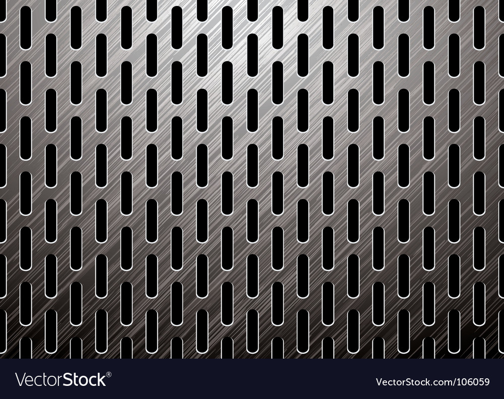 Metalic background vector