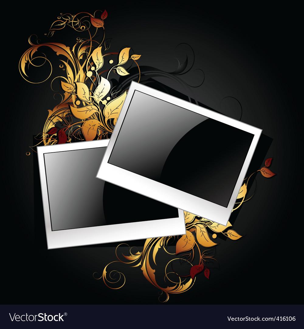 Web icon photo frames vector