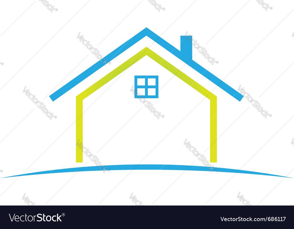 House Vector Art - klejonka