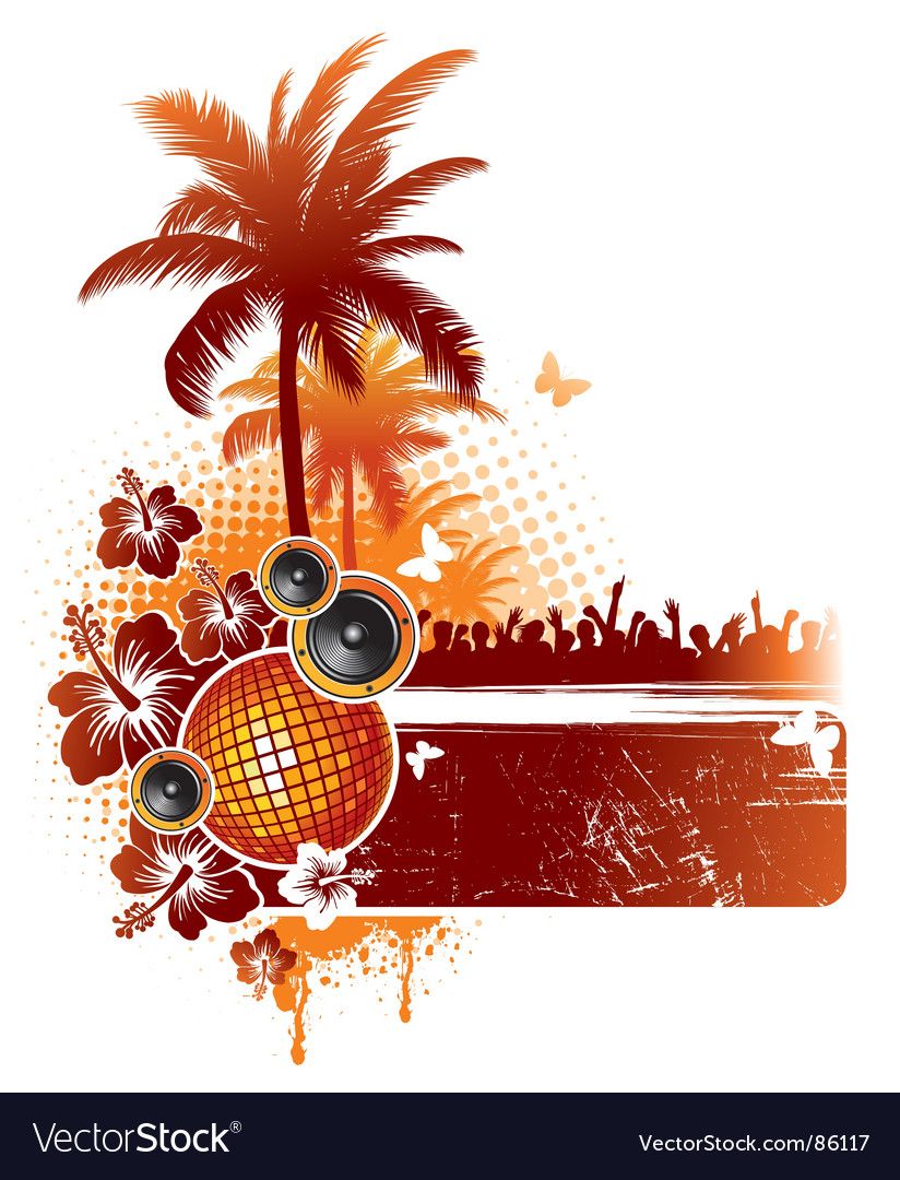 Tropical party vector
