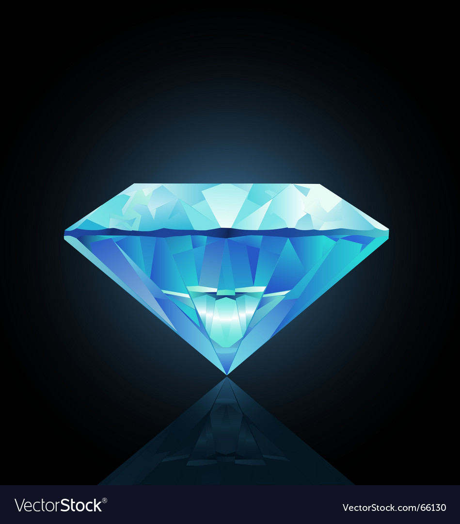 Diamond illustration vector