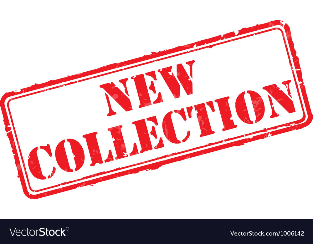 New collection rubber stamp vector