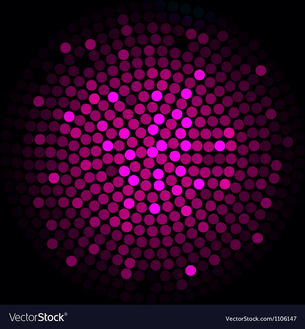 Pink lights - abstract background vector